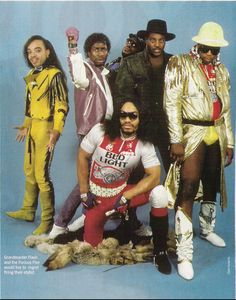 The original and the best: Grandmaster flash & furious five...now there are some seriously dodgy threads!