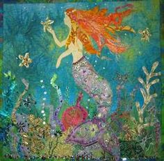 mermaid #quilt