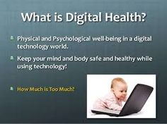 Image result for Digital Health and Well Being Technology World, Digital Technology, What Is Health, What Is Digital, Digital Citizenship, Health And Wellbeing, Physics, Psychology, Google Search
