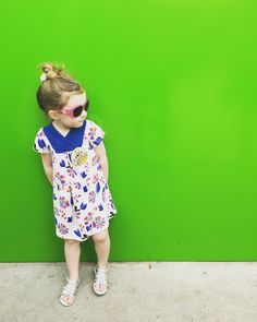 Take me to Hollywood, I'm ready for my closeup! Love #TeaCollection dresses! #kidsstyle #hollywoodstudios #acolorstory