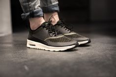 NIKE WMNS AIR MAX THEA KJCRD FADED OLIVE/BLACK-SAIL available at http://www.tint-footwear.com/nike-wmns-air-max-thea-kjcrd-300