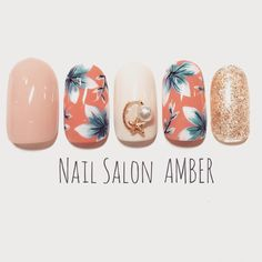 #nail #nails #nailart #nailswag #nailswag #naildesign #nailstagram #amber #ネイル #ネイルアート #ネイルデザイン #夏ネイル #春ネイル #ボタニカルネイル #サンプルチップ #八王子 #八王子ネイルサロンアンバー #八王子ネイルサロン (Nail Salon AMBER)