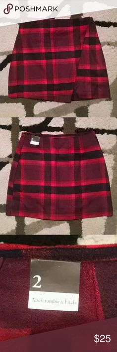 NWT Plaid skirt Abercrombie and Fitch Brand New with tags. Never worn. I bought this thinking I would wear it but just never got around to it. Its really cute on! Tags punk goth killstar nasty gal omighty unif hot topic Abercrombie & Fitch Skirts Mini