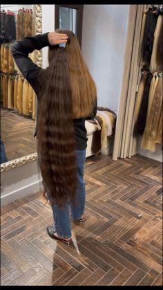 Fur Coat, Long Hair Styles, Jackets, Fashion, Down Jackets, Moda, Fashion Styles, Long Hairstyle, Long Haircuts