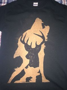 Marauders bleached T-shirt I made for a friend. Back picture in ...