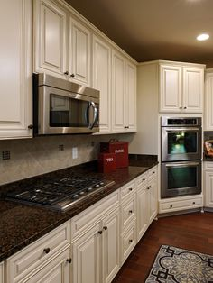 Kitchen Cream With Antique Brown Glaze Design, Pictures, Remodel, Decor and Ideas - page 37