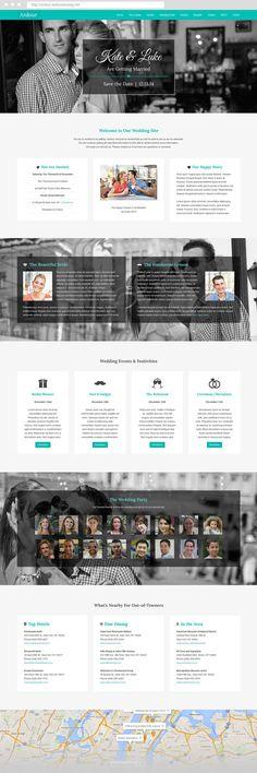 Ardour One Page #Joomla 3 #Wedding #Theme by webunderdog. #webdesign #template #onepage #landingpage #creative #inspiration #marriage #engagement #rsvp #invitiation