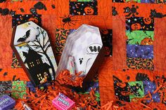 Boxed In Vol. 20: Coffin by WendyBird Designs | Jeepers Creepers by Kristin Aagard Designs