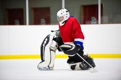 At-Home tips for Hockey Goalie training.