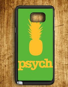 Yellow Green Psych Pinapple Samsung Galaxy Note Edge Case