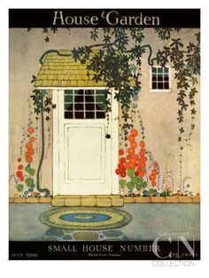 House & Garden Cover - July 1919 Premium Giclee Print