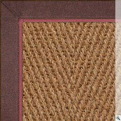 Coir Herringbone - Coir Rugs @ The Natural Rug Store