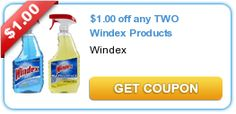 $1.75 in Windex Cleaner Products Printable Coupons