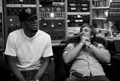 Mos Def in the studio