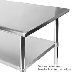12 best stainless steel work kitchen prep table images rh pinterest com