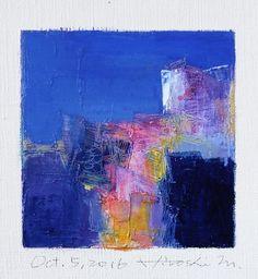 Il sagit de ma nouvelle peinture à lhuile originale complétée aujourdhui. Peinture à lhuile est très lente à sécher, il faut environ une semaine à sécher et à expédier de mon studio. Je vous remercie, Hiroshi 5 octobre 2016 -------------------------------------------------------------------------------------------- Il sagit dune peinture à lhuile abstraite Original par Hiroshi Matsumoto Titre : 5 octobre 2016 Taille : 9,0 cm x 9,0 cm (env. 4 « x 4 ») Taille du canevas : 14,0 cm x 14,0 cm ...