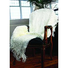 @Overstock - What a wonderful idea to make a throw that looks like the ocean waves. This soft acrylic ruffle throw has a never-ending texture.   http://www.overstock.com/Home-Garden/Charlotte-Acrylic-Ruffle-Throw/6590884/product.html?CID=214117 $42.35