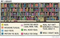 There's a place for every book on your shelf...