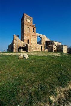 foto di T. Mosconi. Montescudo. Museo della linea gotica orientale. Eastern Gothic Line Museum.