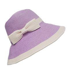 Chic Ladies Womens Straw Sun Hat UPF50+ Wide Brim Floppy Hat Summer Beach Bucket Cap Home Prefer http://www.amazon.com/dp/B01CCVXRBI/ref=cm_sw_r_pi_dp_EIx3wb0B2N8DQ