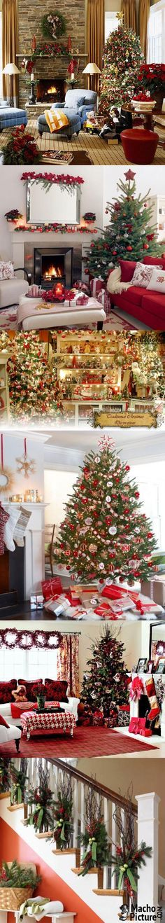 Traditional christmas decor - 7 PHOTO!