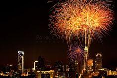 july 4th fireworks uptown charlotte nc