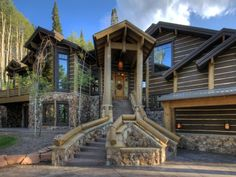 51 great ski properties images in 2019 log homes mountain villa rh pinterest com