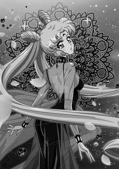 Redraw: Black Lady (Sailor Moon R) by kgfantasy on DeviantArt Sailor Moon Girls, Sailor Moom, Sailor Moon Fan Art, Sailor Chibi Moon, Sailor Moon Cosplay, Sailor Saturn, Sailor Moon Crystal, Sailor Scouts, Castiel