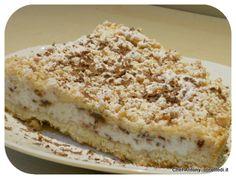torta sbriciolata di ricotta e cioccolata