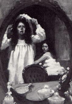 Lady Macbeth Sleepwalking Illustration From Macbeth By