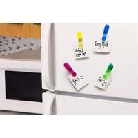 £3.99 Was £7.50 for a set of four magnetic pegs ideal for notes, receipts and vouchers from Ckent Ltd