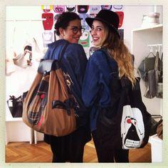 happy customers at EVA BLUT! Vienna, Store, Happy, How To Wear, Bags, Fashion, Handbags, Moda, Fashion Styles