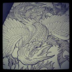 Phoenix drawing I did couple years ago.