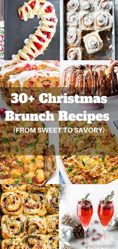 If you're looking for a new fun idea for Christmas morning breakfast, I've got ya covered here with 34 incredibleChristmas breakfast recipes to help make your Christmas morning magical. You'll find sweet, savory and drink ideas. There's something for everyone, including make ahead breakfasts, easy recipes, and even a few healthy recipes. Plenty of deliciousness to serve a crowd! #Christmasbreakfast #holidaybrunch #breakfastrecipes #breakfast #christmas #brunch