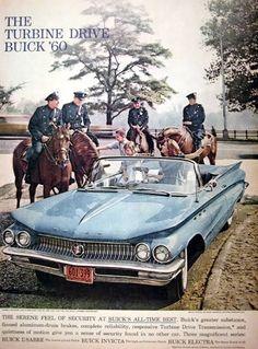 Car Show Classic: 1960 Buick LeSabre Convertible Vintage Advertisements, Vintage Ads, American Classic Cars, American Auto, Automobile, Buick Cars, Buick Lesabre, Car Brochure, Cabriolet