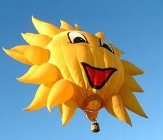 OUTDOORS NEW MEXICO: Albuquerque International Balloon Fiesta - What a Gas!