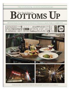 Menu | Newspaper looks @ BottomsUp Thonglor ----------------------- 2013©MuscularAndTheScientist -----------------------