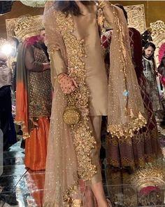 At a baraat/ valima : Pakistani Fancy Dresses, Pakistani Fashion Party Wear, Pakistani Wedding Outfits, Pakistani Bridal Dresses, Wedding Dresses For Girls, Pakistani Dress Design, Indian Dresses, Indian Outfits, Fancy Dress Design