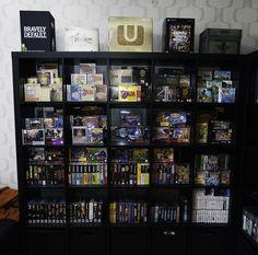 Nintendo shelf