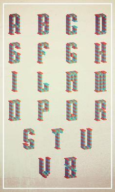 Alphabet 2.0 by MIRKOW GASTOW, via Behance