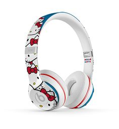 Launch You'll Love: Hello Kitty x Beats Earphones #InStyle These are awesome!!!