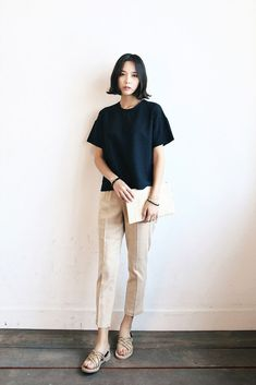 Celebrity denim styles that we love loafers pants and style for Korean minimalist house