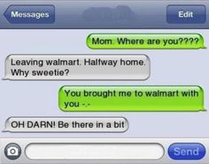 funny text messages from parents | 10 Funny Text Messages From Parents - NoWayGirl