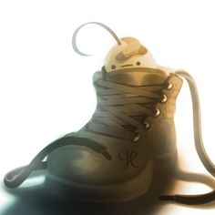 In His Shoes by ~A-i-R-o on deviantART http://a-i-r-o.deviantart.com/art/In-His-Shoes-400615378