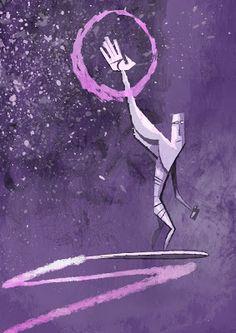 Silver Surfer; Sketchbook blog of Illustrator, Jonathan Edwards