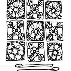 Granny Squares- Deur 8 workshops - by Madame Fourmilion