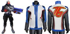 If You Interested in Gaming World So You will Likes Soldier 76 Cosplay Costume Jacket. Now Dewuchi Created for Our Male Customers. Made from 100% Soft Synthetic Leather with Front Zip Closure Available at Our Online Store in Reasonable Price.   #games #boysfashion #menfashion #mencollection #parties #casual #menswear #love #gentleman #styles #fashionblog #streetstyle #bikers