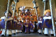 La Semana Santa con cliks de playmobil