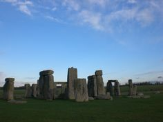 Stonehenge on a cold windy day..very mysterious place
