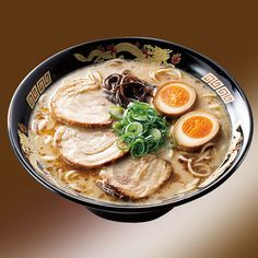 Ramen. I miss you. So much.... Tonkotsu Ramen
